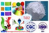 PVC 의 아BS를 위한 높은 광택 그리고 높은 내구성 금홍석 내용 99%Min 금홍석 이산화티탄 사용