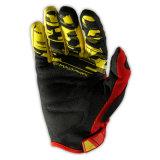 Guanti di motocross della bici della sporcizia di Yellow&Black per il cavaliere (MAG20)