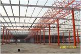 Edificio industrial realizada por la estructura de acero para almacén o taller y fábrica/Godown
