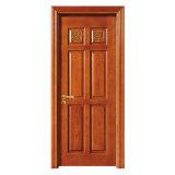 Porte en bois massif Carving Design Intérieur Porte en bois