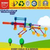 Горячие продажи по вопросам образования пластиковые строительные блоки пистолет серии игрушка