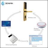 TCP/IP het draadloze Slot van de Deur van het Voorzien van een netwerk Digitale voor 3855mm Deuren