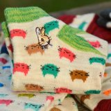 Nette Tiersocken-bunte lustige beiläufige Baumwollknöchel-Socken der Frauen