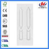 Schöner preiswerter hölzerner Primer-weiße Tür-Haut (JHK-020)