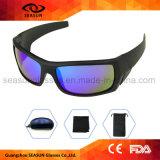 유행 고품질 UV400 테니스 색안경 일요일은 순환을 몰기를 위한 고글을 보호한다