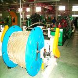 Od30-75mm flexibles Metalschlauch-horizontale Draht-Einfassungs-Maschine/Flechtmaschine