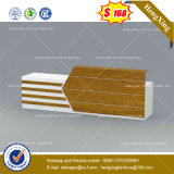 Les plaquettes d'écriture en cuir avec Bureau de gestion des câbles (HX-8NE063)