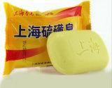 O sabão do enxôfre de Shanghai antipruriginoso remove o sabão de toalete da limpeza do corpo do Horniness