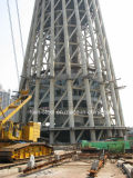 A estação de televisão de Design inteligente Land-Mark Estrutura de aço da estrutura do prédio