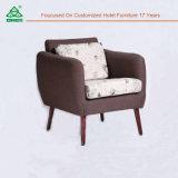 Sofá material de madera determinado del diseño de los muebles del sofá