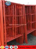 Fabricante de Foshan Guangdong Aço pintado estrutura H Escada andaimes para venda