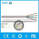 El cable Ethernet Cat5e las normas de UTP de red Gigabit/seg / Cable de Internet cable Ethernet 350MHz