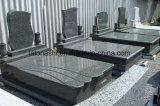 고품질 판매를 위한 자연적인 까만 기념물 묘비