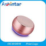무선 금속 Bluetooth 스피커 LED 가벼운 Subwoofer 소형 스피커