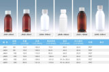 geneigtes Haustier-Plastikflasche der Schulter-60ml für das orale flüssige Verpacken