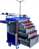 ABS carrinho de emergência de Enfermagem Médico ao hospital com o ISO Aprovado (Slv-85001B)