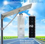 1の40Wすべてか保証5年のの統合されたLEDの太陽街灯
