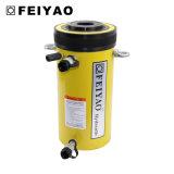 二重代理の安全弁のコンパクトの油圧空のプランジャシリンダー