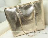 Borsa 2018 dell'oro delle donne del sacchetto di cuoio dell'unità di elaborazione di Dongguan per il sacchetto di spalla delle signore dell'organizzatore
