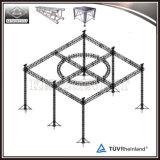 Изогнутая система ферменной конструкции этапа ферменной конструкции освещения крыши