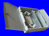 48 núcleos de fibra de porta dupla caixa de terminais de montagem na parede