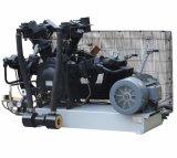 En trois étapes piston alternatif électrique industriel compresseur à air