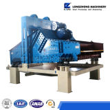 máquina de reciclaje de arena de alta calidad con pantalla de vibración