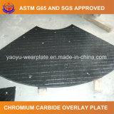 Carbure de chrome surfaçant dur la plaque d'usure pour la garniture de distributeur