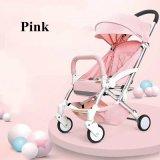 Cochecito rosado y verde de la nueva llegada directa de la fábrica de bebé