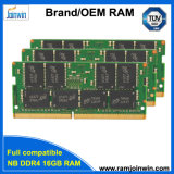 OEM/ODM 서비스 렘 DDR4 32GB (16GB+16GB) 기억 장치 모듈