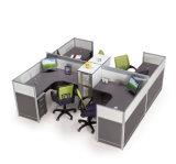 新しいオフィス4の人のコールセンターワークステーションオフィスの区分(SZ-WST833)