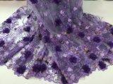 2018 новых прибытия 3D-моды свадебные платья кружевной ткани