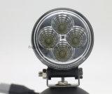 À prova de Emark 12W Rodada Epistar LED cheias de luz de trabalho (GT2009-12W)