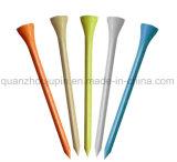 Divers colorés en bois d'impression personnalisée de la taille de tee de golf