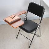 Silla caliente del entrenamiento de la silla de plegamiento de la silla de la escuela del cromo de la venta con la tablilla con el amortiguador