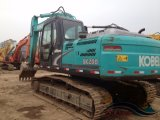 Utiliza el Japón original de 20 toneladas de equipos de construcción seguimiento hidráulica excavadora Kobelco SK200-8 excavadora de cadenas