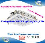 Indicatore luminoso caldo della stazione di servizio di prezzi competitivi 120W LED di vendita di Yaye 18 con 5 anni di garanzia/Meanwell