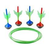 Famiglie degli adulti dei bambini dei capretti 6 dardi giganti esterni del giardino di divertimento di PCS dei giocattoli stabiliti di attività