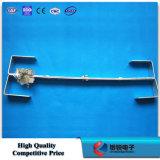 Línea de acero galvanizada en baño caliente hardware de poste de la asamblea del almacenaje del cable