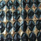 Polyester-Taft-Gewebe mit Sequin-Stickerei für Hometextile