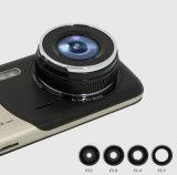 4 " IPS HDスクリーン二重レンズの自動車運転のレコーダー