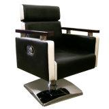 의자 미용 아름다움 의자를 유행에 따라 디자인 해 시트 이발사의 둘레에 기대기