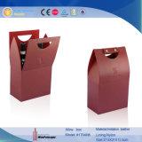 Складные картонные коробки вина бумаги (1704R8)