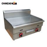 対バーナーのカウンタートップの熱い版の炊事道具のガスのグリドル(LPG)