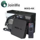 Cadre intelligent androïde du faisceau TV de quarte de Mxq-4K Rk3229