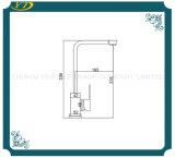 Nuevo grifo del fregadero de cocina de la maneta de la carrocería cuadrada del diseño solo