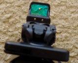 Lentes de vetor predador 1X28X20 Caça Ra15 Riflescope Reflex Sight Optical Red Dot com 4 Moa Endoplasmático Bloquear 20mm Picatinny Weaver Monte