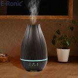 De Ultrasone Houten Luchtbevochtiger van de Lucht van de Verspreider 500ml van het Aroma van de Essentiële Olie van de Korrel e-Ronic