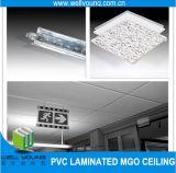 Облегченные декоративные пожаробезопасные панели потолка MGO PVC Coated