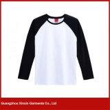 Tshirt ocasional respirável quente dos homens da boa qualidade do OEM da venda (R13)